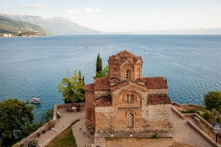 Saint John at Kaneo Ohrid Macedonia
